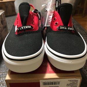Vans Shoes - Vans AUTHENTIC CHECKERBOARD kids size 2